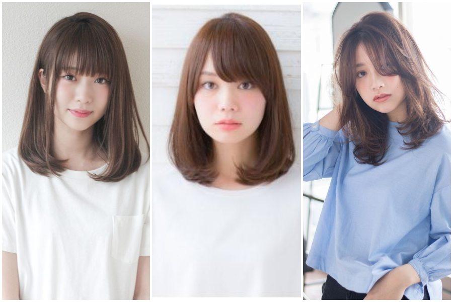 8 Model Poni Korea Untuk Wajah Bulat Yang Bikin Pangling Womantalk