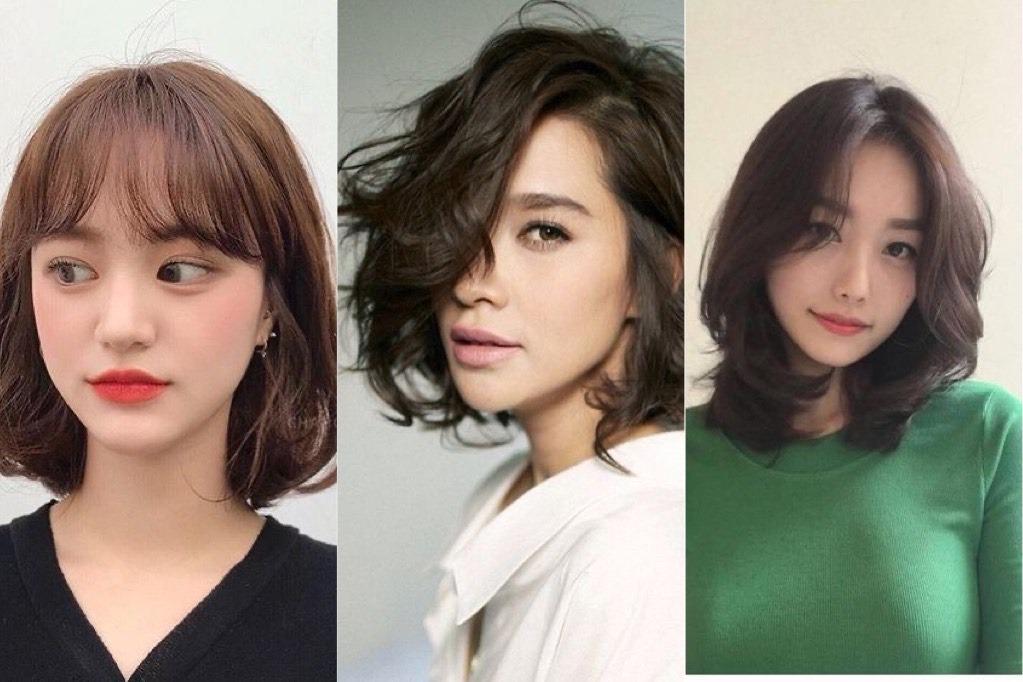 10 Model Rambut Bob Ala Korea Yang Bagus Untuk Wajah Bulat Berpipi Tembam Womantalk