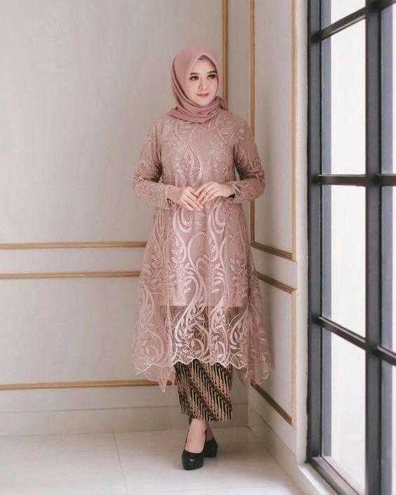 10 Model Baju Pesta Brokat Untuk Bridesmaid Ke Kondangan Termasuk Hijaber Womantalk