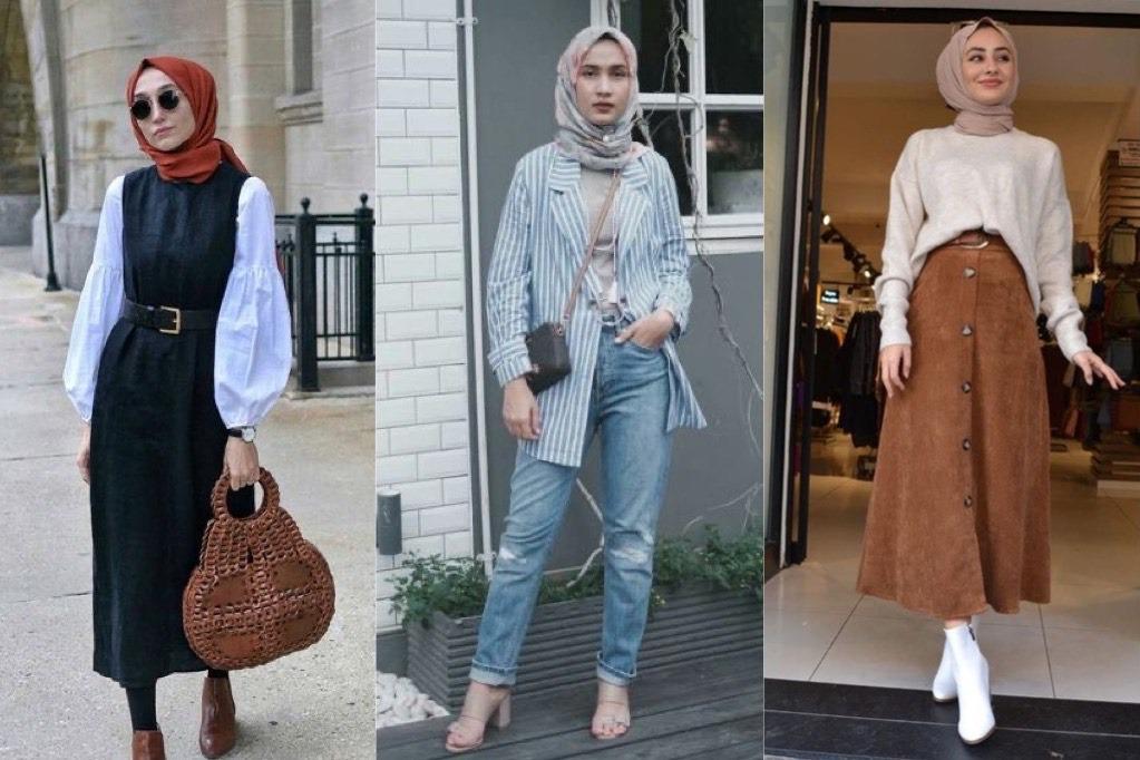 10 Inspirasi Style Hijab Untuk Anda Yang Bertubuh Mungil Dan Pendek Womantalk