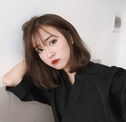 9 Model Rambut Pendek Poni Tipis Ala Korea Yang Tidak Membosankan Womantalk
