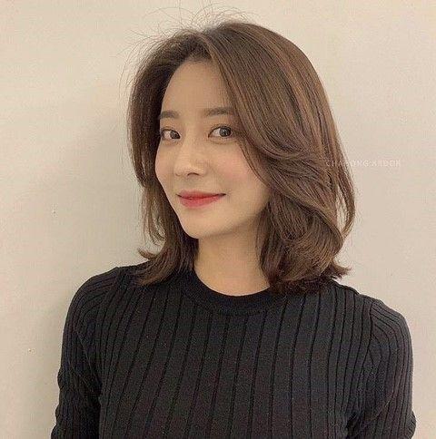 8 Model Rambut Untuk Wajah Kotak Ala Korea Womantalk