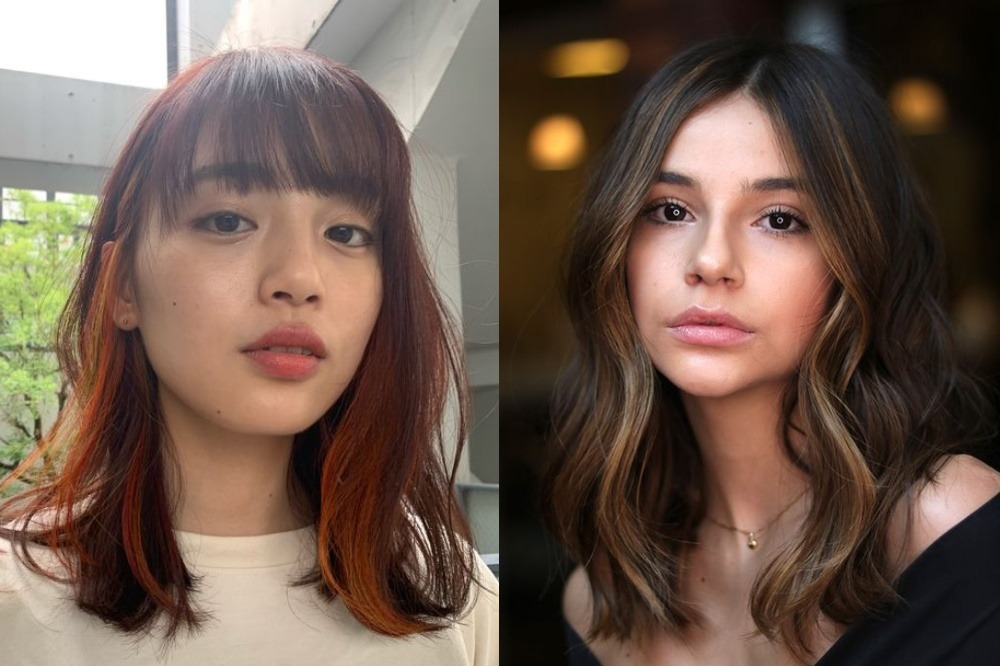 7 Warna Highlight Rambut Untuk Kulit Sawo Matang Agar Terlihat Awet Muda Womantalk