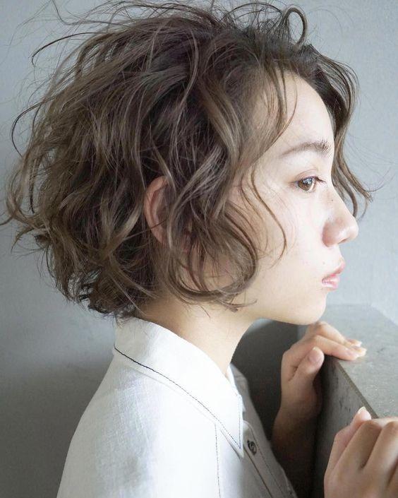 7 Inspirasi Rambut Keriting Pendek Ala Perempuan Korea Womantalk