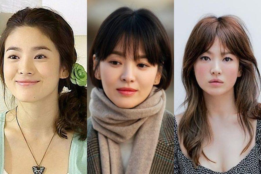 7 Gaya Rambut Song Hye Kyo Yang Bikin Pangling Womantalk