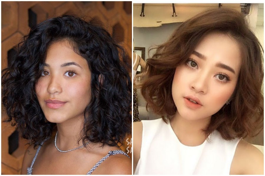 Keriting Rambut Atau Korean Perm Yang Cocok Untuk Semua Bentuk Wajah Womantalk