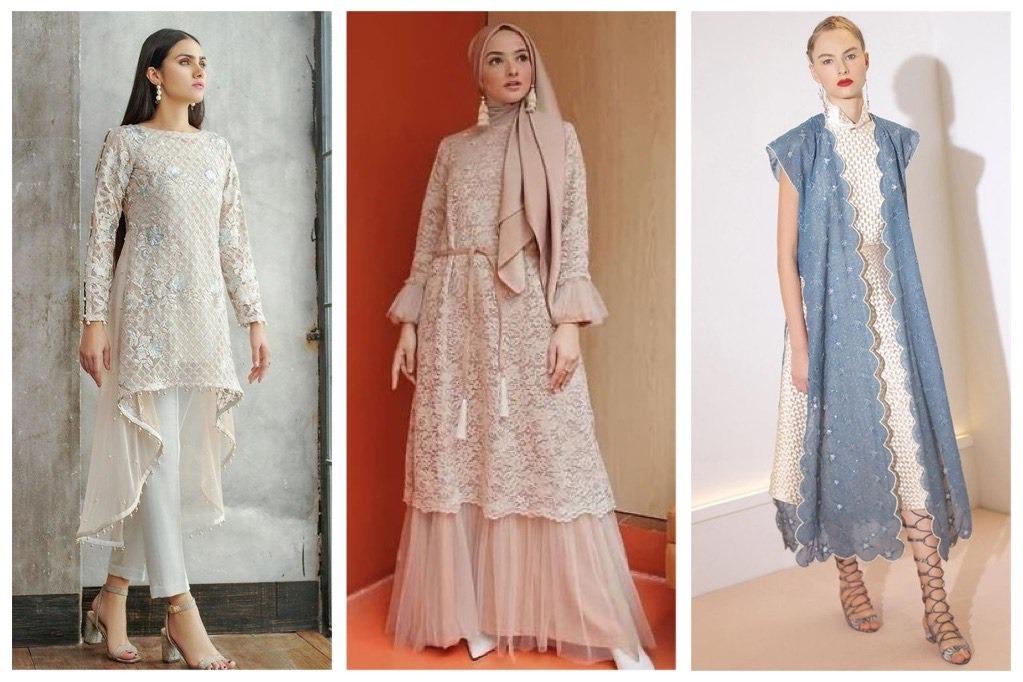 8 Model Baju Pesta Renda Yang Simpel Tapi Elegan Womantalk