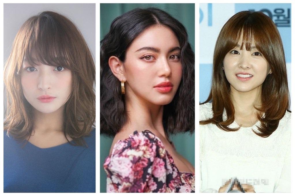 8 Model Rambut Sebahu Ala Korea Untuk Wajah Bulat Biar Tampak Tirus Womantalk