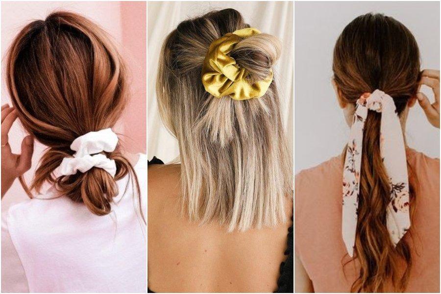 8 Cara Mengikat Rambut Simpel Dan Mudah Pakai Scrunchie Womantalk