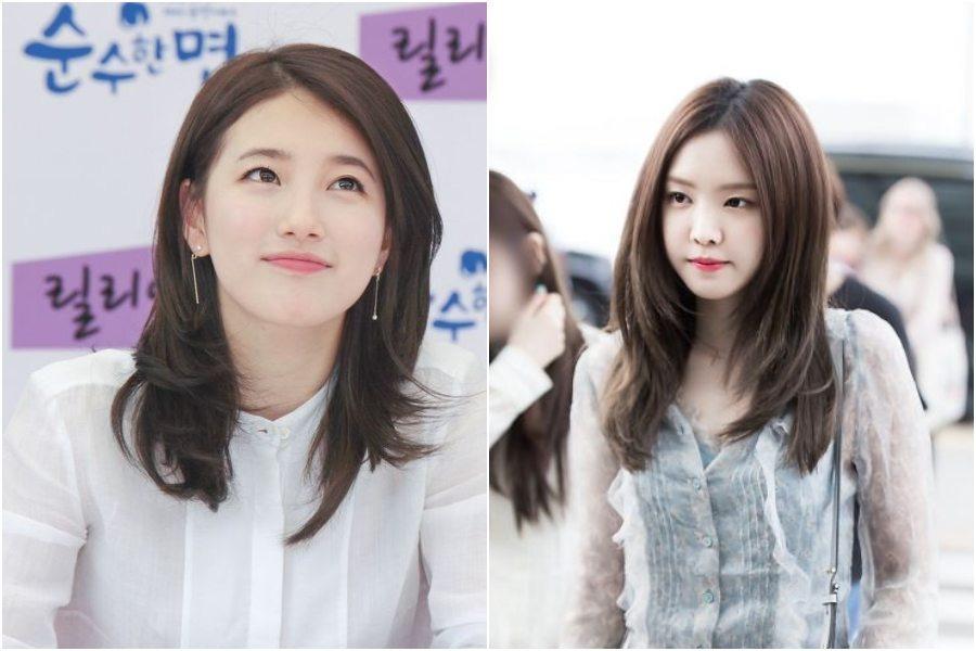 7 Model Rambut Oval Layer Tercantik Ala Perempuan Korea Womantalk