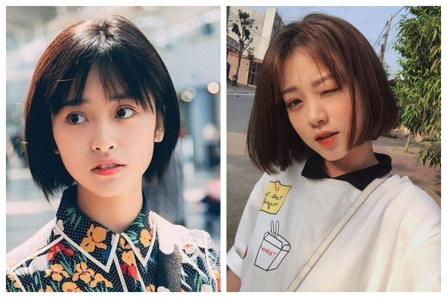 8 Inspirasi Model Rambut Pendek Ala Korea Untuk Wajah Lonjong Womantalk