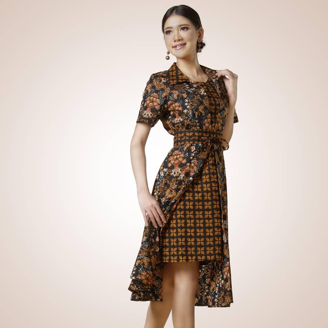 7 Model Dress Batik Modern Yang Stylish Dan Elegan Womantalk
