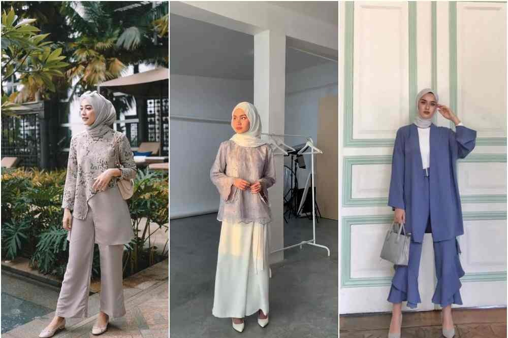 7 Style Kondangan Dengan Celana Kulot Untuk Para Hijaber Womantalk