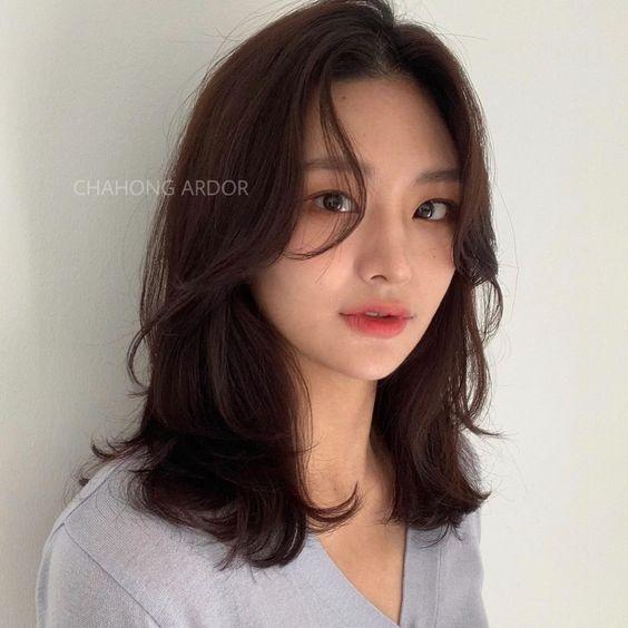 9 Model Rambut Sebahu Untuk Rambut Tipis Ala Korea Womantalk