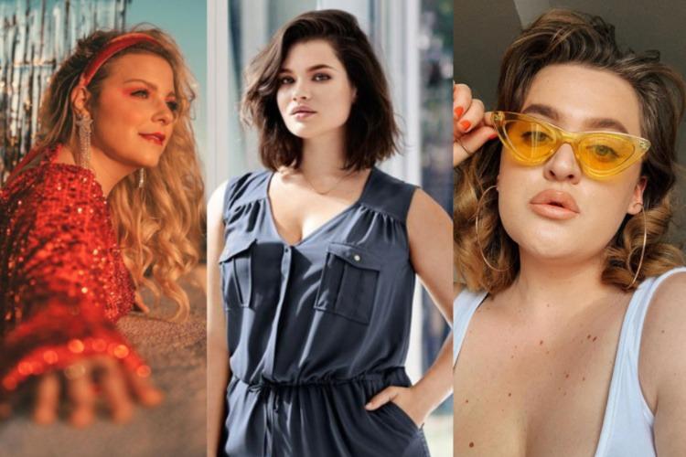 8 Model Rambut Ikal Yang Menawan Untuk Wajah Bulat Dan ...