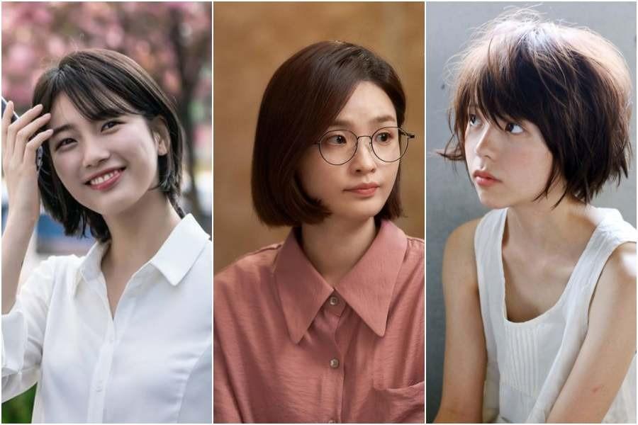 8 Gaya Rambut Pendek Ala Korea Untuk Perempuan Usia 30 An Agar Terlihat Muda Womantalk