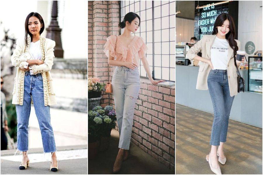 7 OOTD Celana Jeans High Waist Untuk Wanita Usia 35-an - Womantalk