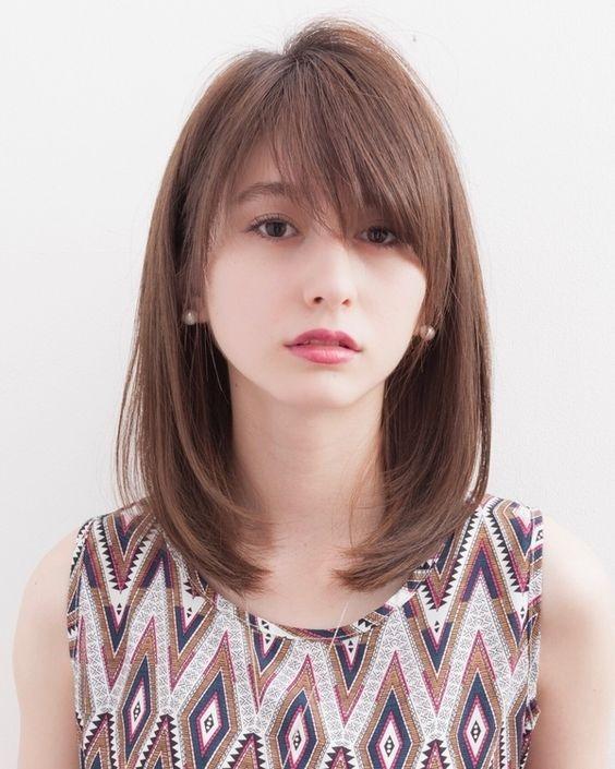 10 Model Poni Ala Korea Untuk Jidat Lebar Womantalk