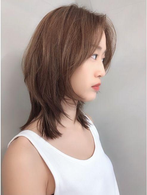 8 Model Rambut Shaggy Pendek Ala Korea Bikin Awet Muda Womantalk