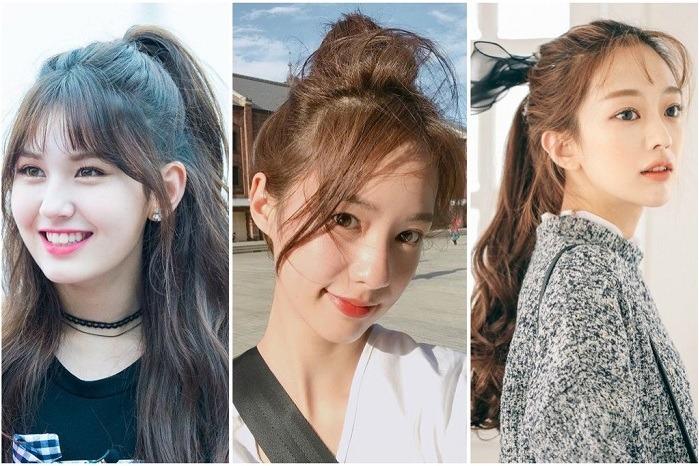 7 Cara Mengikat Rambut Ala Korea Yang Bikin Pangling Untuk Lebaran Tanpa Perlu Potong Womantalk