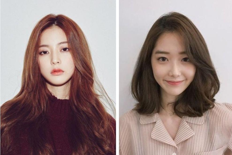 10 Gaya Rambut Untuk Wajah Bulat Ala Korea Yang Stylish Womantalk
